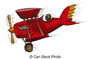 Biplane Clip Art and Stock Illustrations. 944 Biplane EPS.