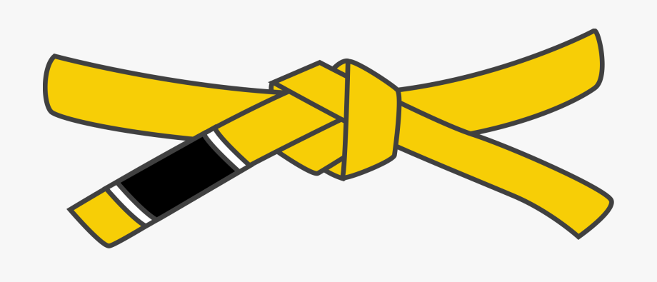 Bjj Yellow Belt.