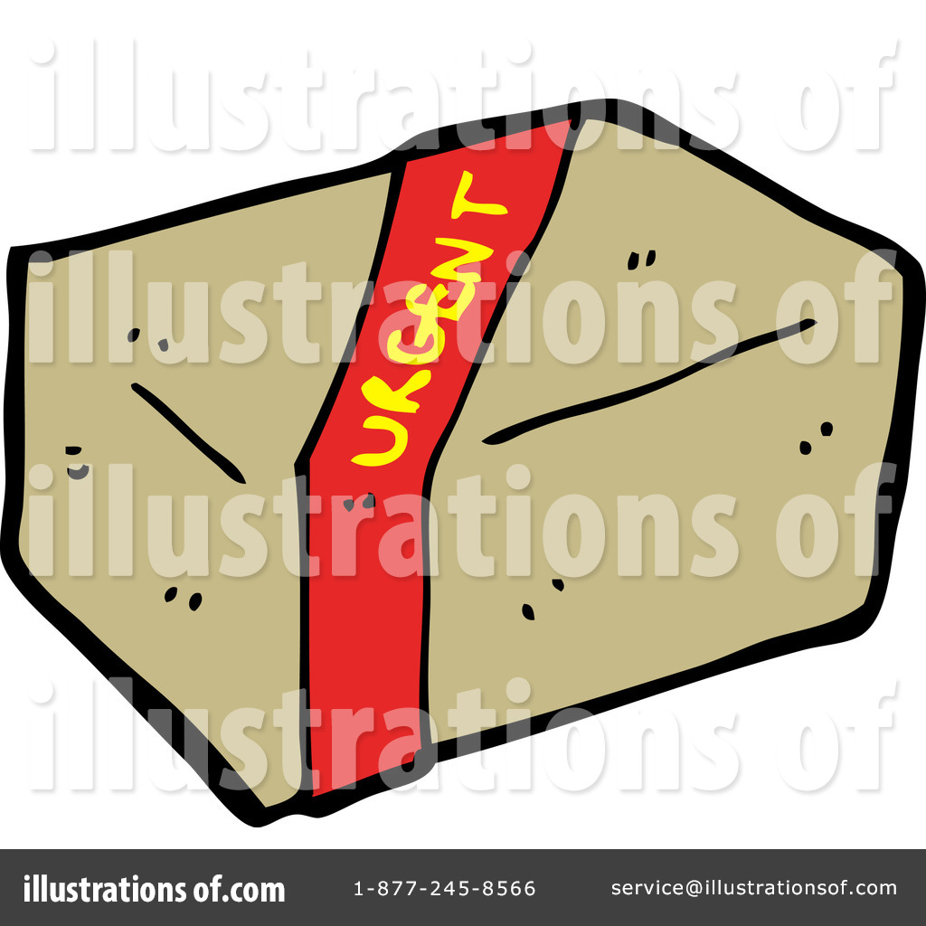 Shipping Package Clipart.