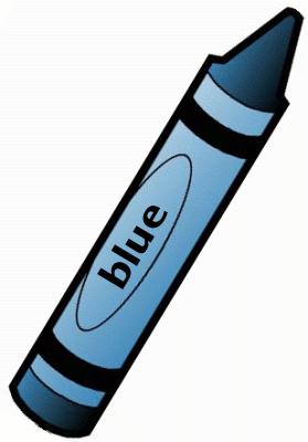 Blue 1 Clipart.