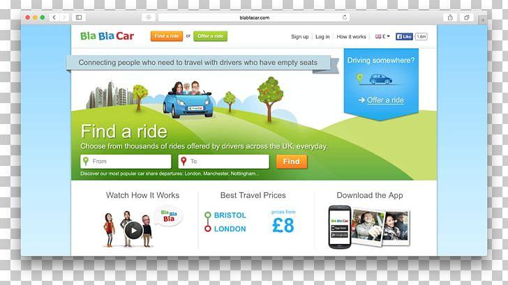 BlaBlaCar Web Design Travel PNG, Clipart, Blablacar, Brand.