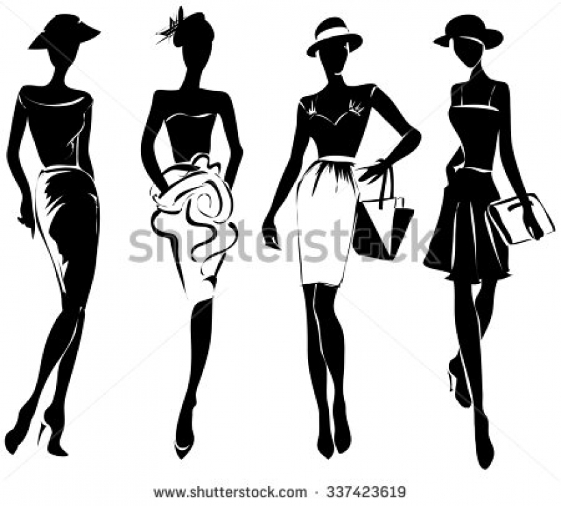 fashion show stock vectors amp vector clip art shutterstock.