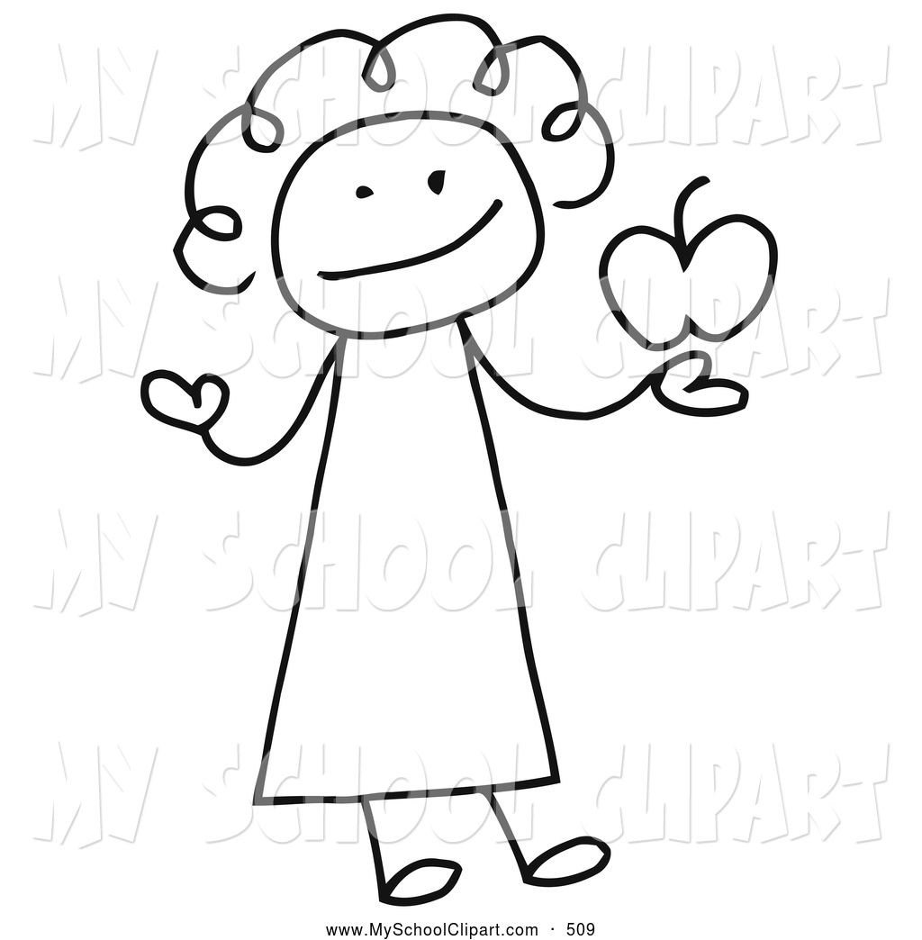 Free black and white clipart for teachers 4 » Clipart Station.