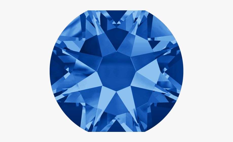Crystals Clipart Blue Jewel.