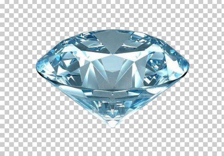 Blue Diamond Moissanite Gemstone Diamond Cut PNG, Clipart.
