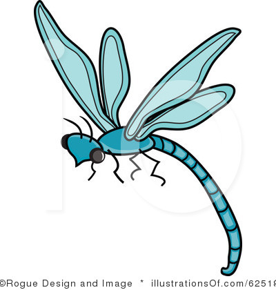 Dragonfly Printables Clipart.