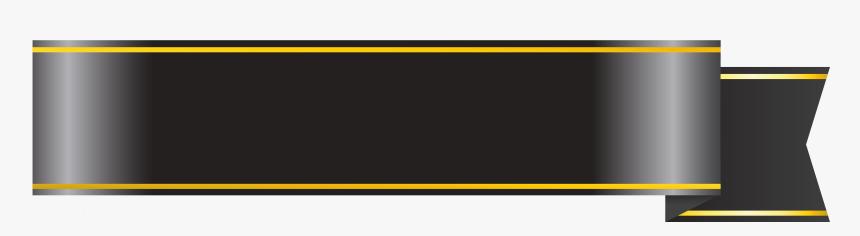 Black Banner Ribbon Png.