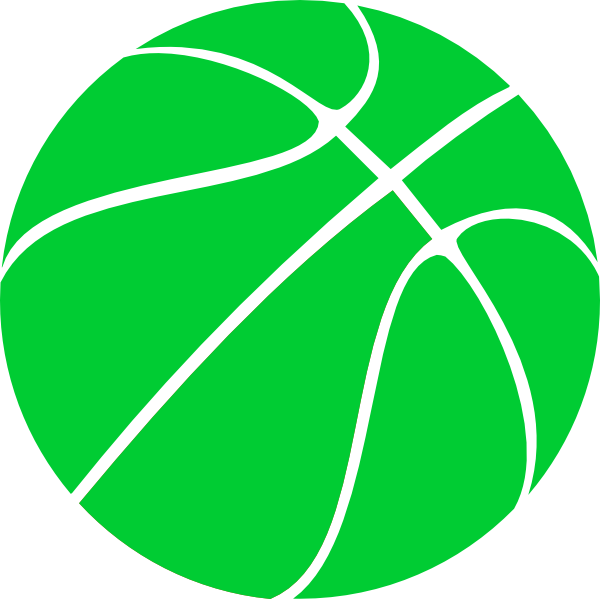 Green Basketball Clip Art At Clker.