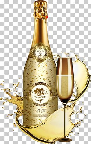 Gold Champagne Glass PNG Images, Gold Champagne Glass.