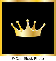 12814 Crown free clipart.