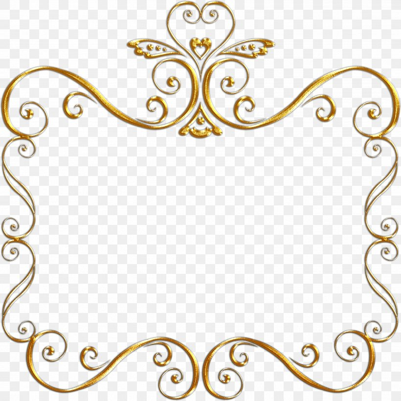 Picture Frames Black And White Gold Clip Art, PNG.