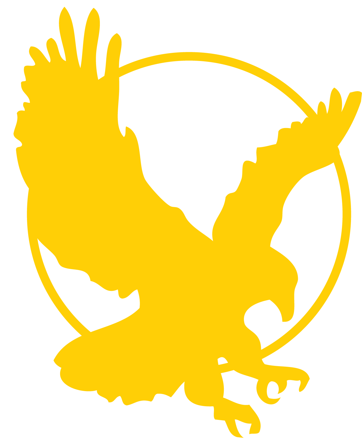 17 Black And Gold Eagle Icon Images.
