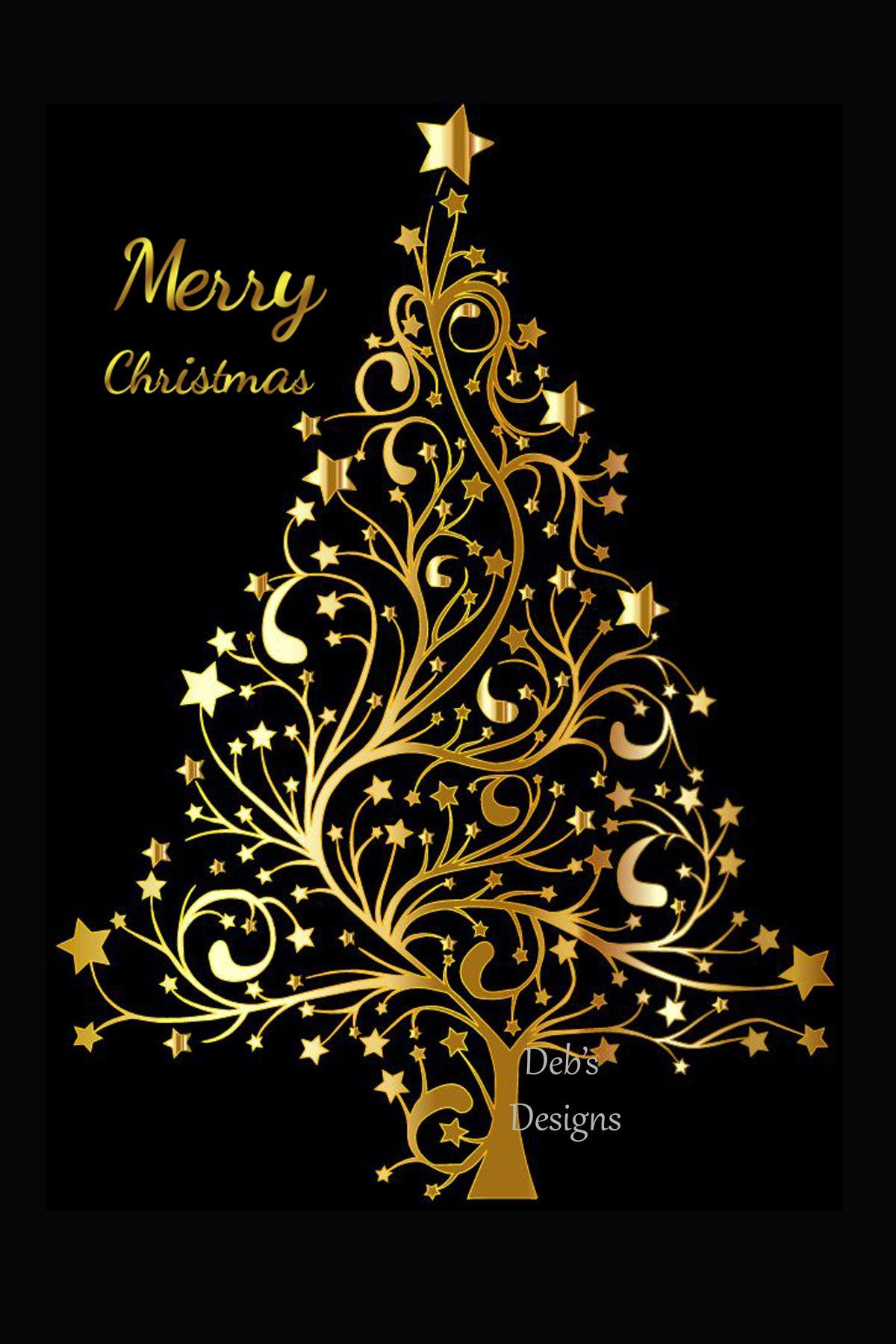 Digital Christmas Card, Printable Digital Christmas Card.