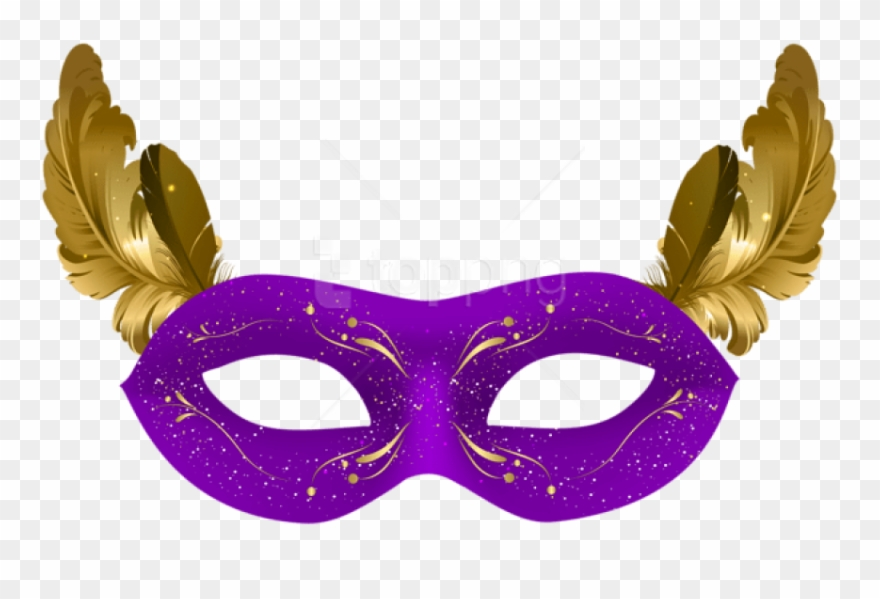 Free Png Download Purple Carnival Mask Png Clipart.