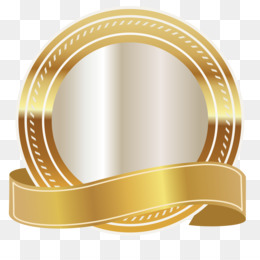 Gold Ribbon PNG.
