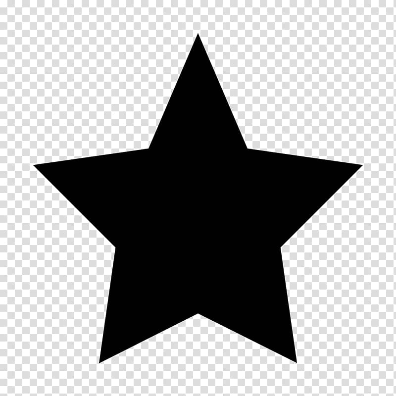 Black star , gold stars new year material transparent.
