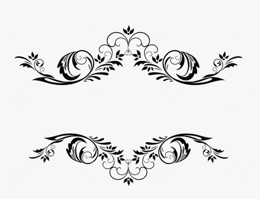 border #black #frame #fancy #curly #png #effecfs.