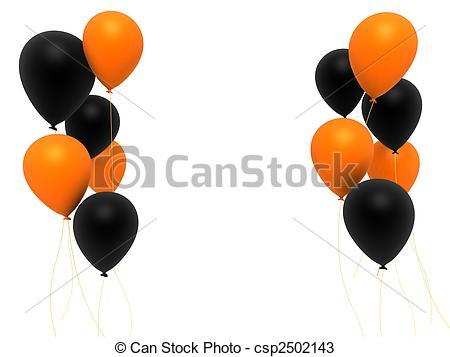 3d balloons.
