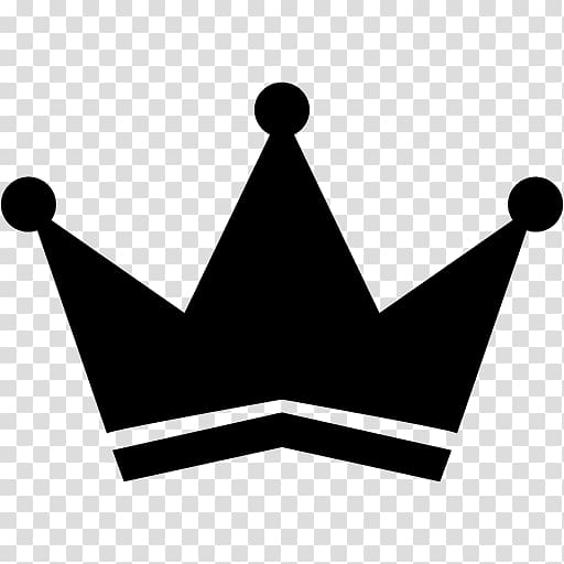 Crown Red Computer Icons , black crown transparent.