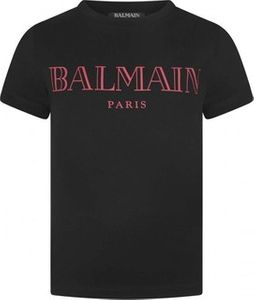 Balmain Black & Red Logo Top price in Dubai, UAE.