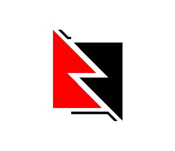 Red Black logo.