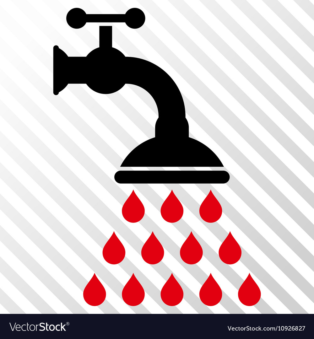 Shower Tap Icon.