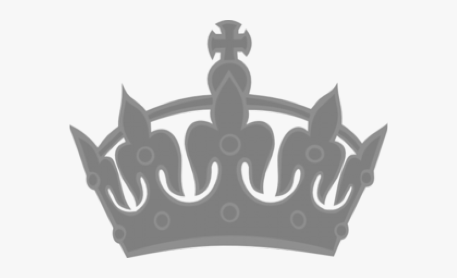 Crown Clipart Silver.