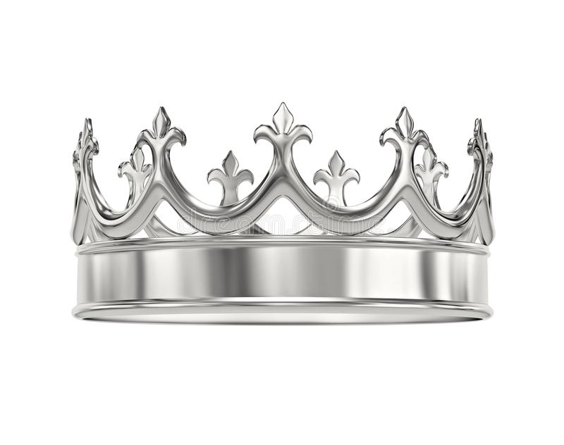 Silver Crown Stock Illustrations.