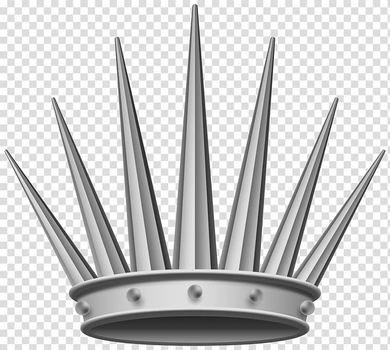 Gray crown illustration, Crown Silver , Silver Crown.