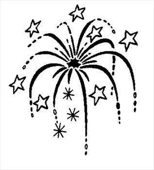 Fourth of july clipart black and white 2 » Clipart Portal.