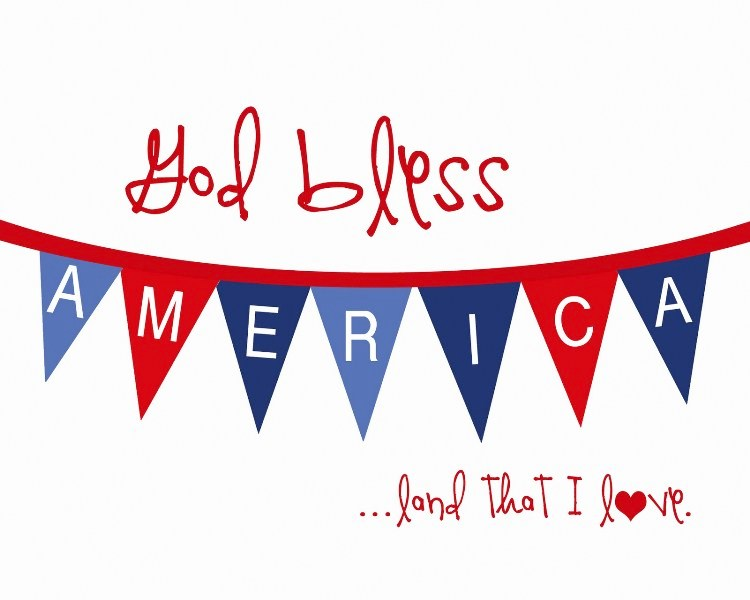 4th of July Clipart Images Border Black and White.