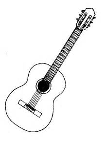 Similiar Black And White Guitar Clip Art Keywords.