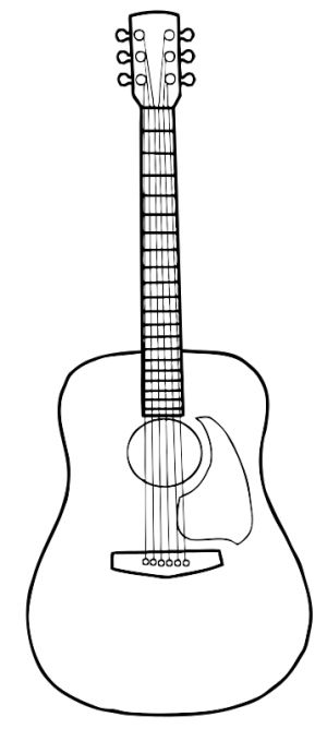 17 Best ideas about Acoustic Guitar Tattoo on Pinterest.