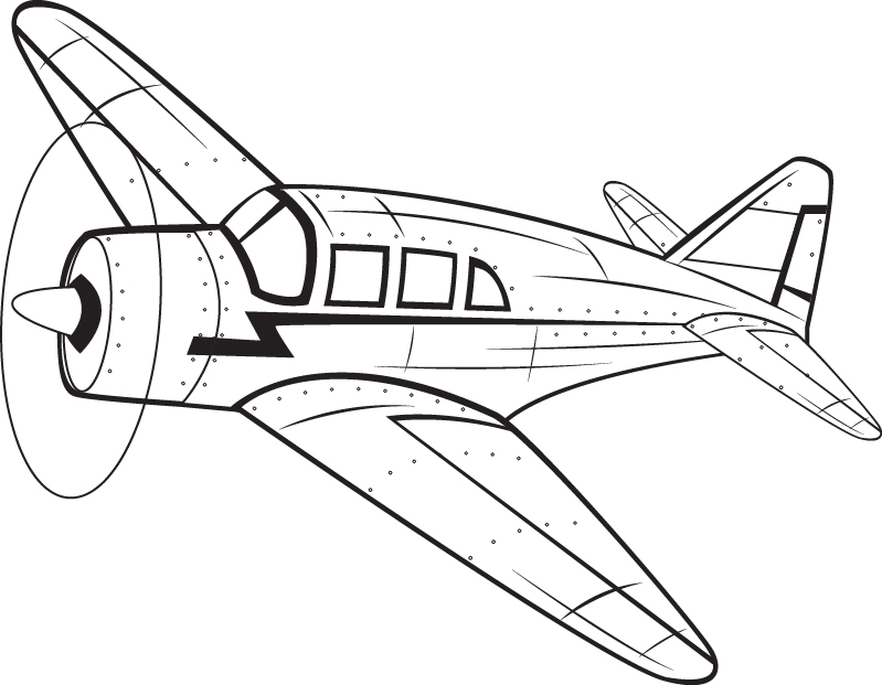 Free Black And White Airplane Pictures Download Clip Art Clever.