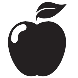 Apple black and white apple black and white clip art clipart.
