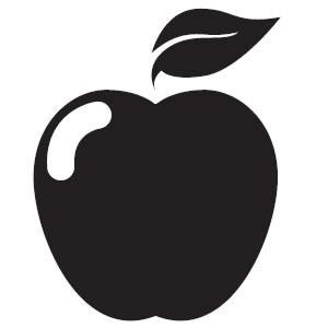 Apple black and white apple black and white clip art clipart.