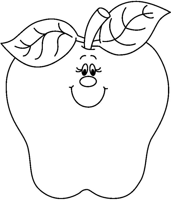 Apple Clipart Black And White Drawing At Amazing Clip Art.