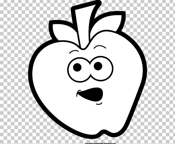 Black And White Apple PNG, Clipart, Apple, Black And White, Cartoon.