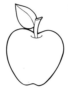 Free Apple Clipart Black And White, Download Free Clip Art, Free.