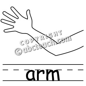 Arm clipart black and white 3 » Clipart Station.