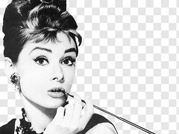 Audrey cutout PNG & clipart images.