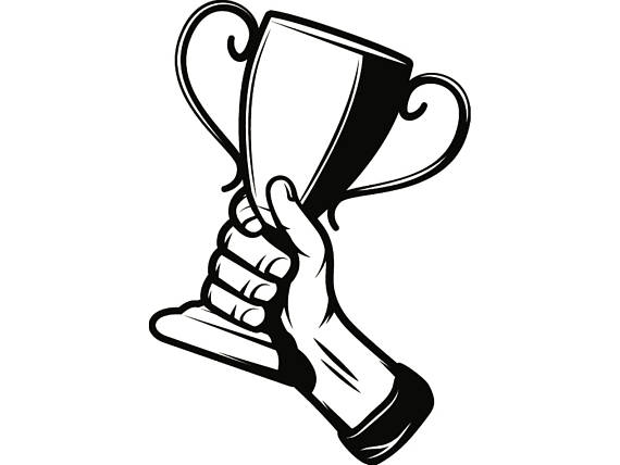 Award Clipart Black And White.