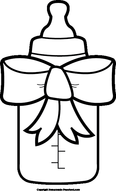 Baby Shower Boy Clipart Black And White.