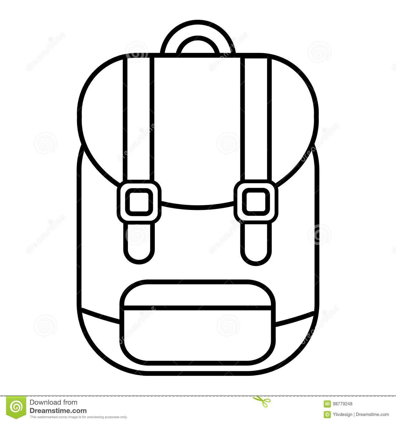 Black And White Backpack Clipart Patmo Technologies Limited.