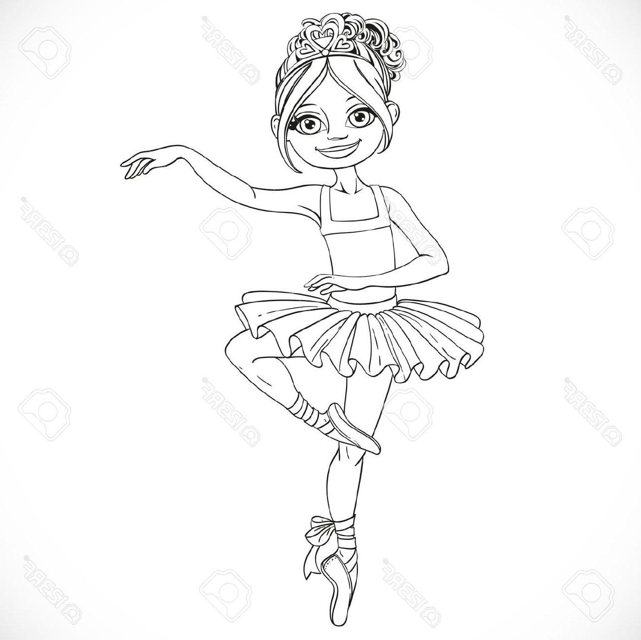 Ballerina clipart black and white, Picture #251227 ballerina.