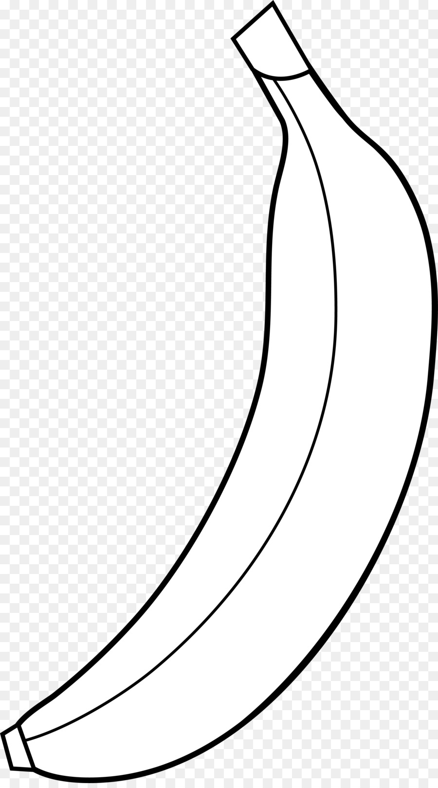 Banana Clipart Black And White clipart.