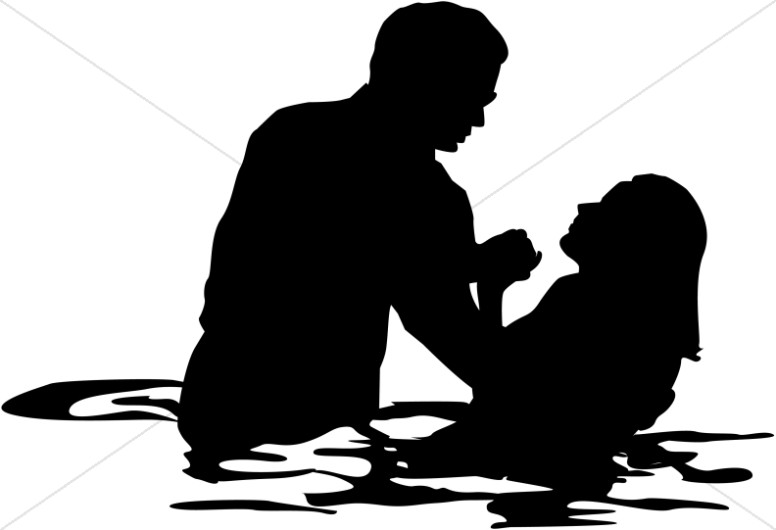 Water Baptism Clipart.