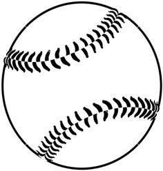 Free Baseball Clipart Black And White & Free Clip Art Images #17905.