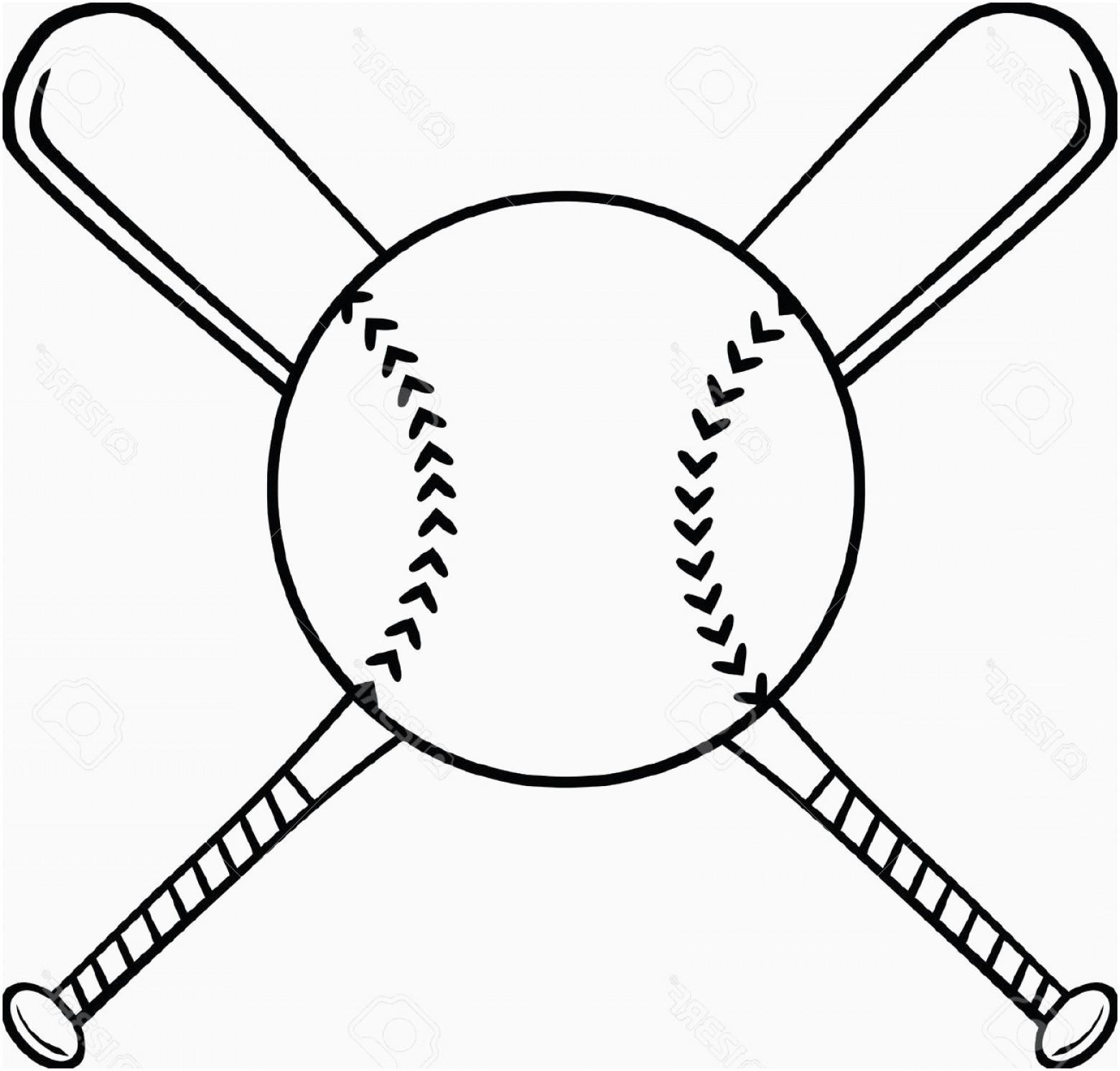 Baseball Clipart Black And White Lovely Baseball Ball Vector.