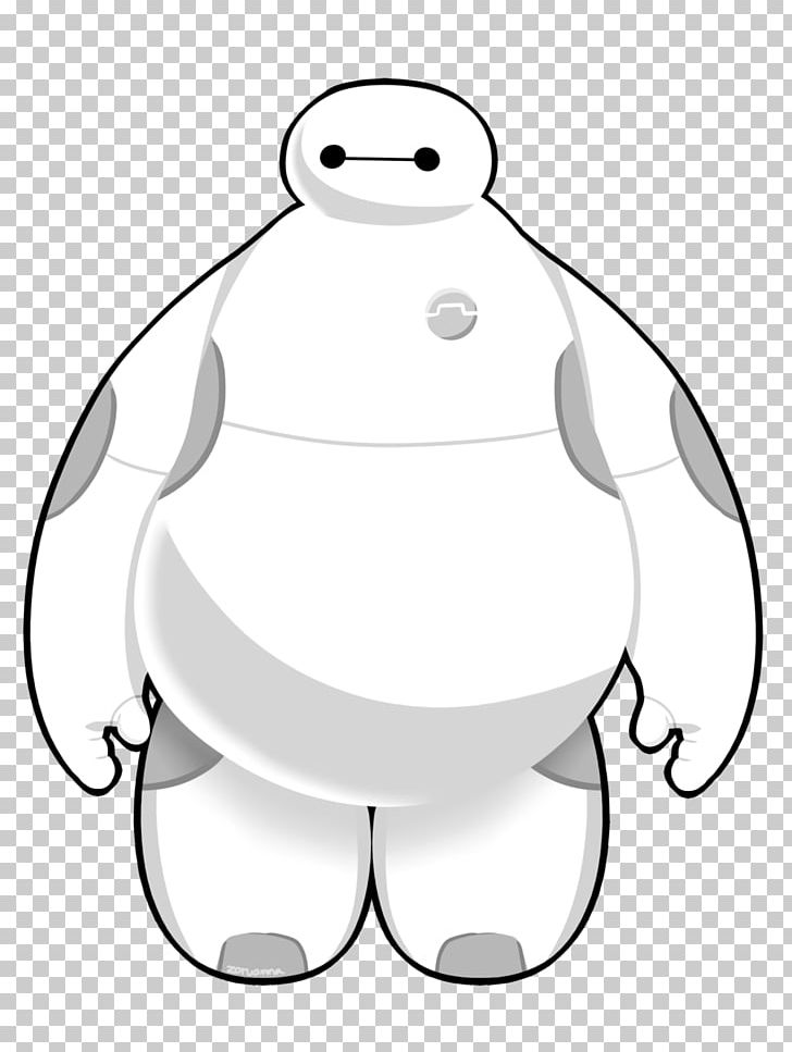 Baymax Drawing Line Art PNG, Clipart, Area, Art, Artwork.